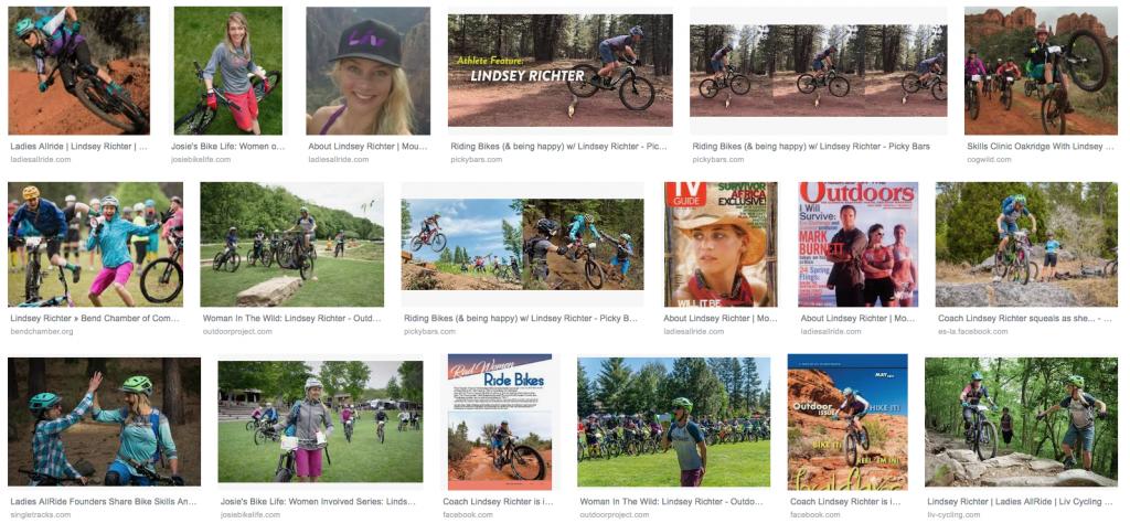 Biker Lindsey Richter