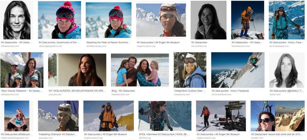 Skier Kit deslauries